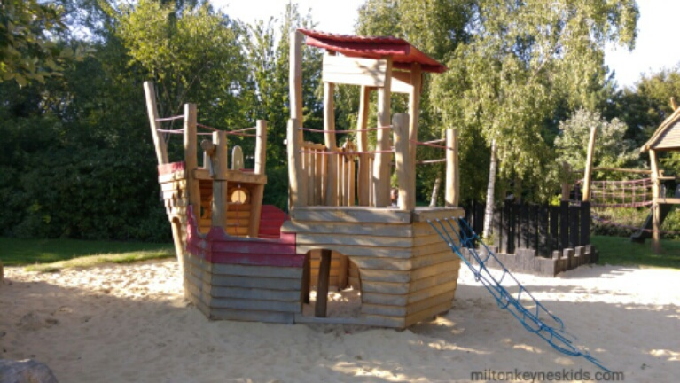 Pirate Park in Loughton