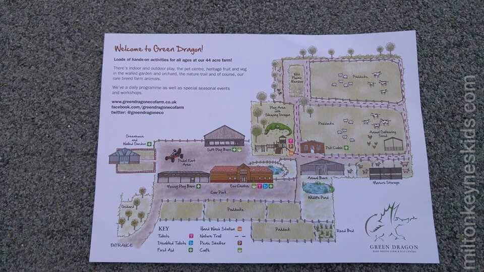 Green dragon eco farm map
