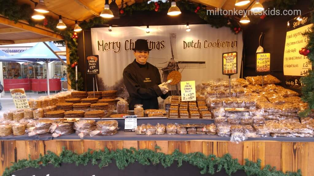 Christmas market at Centre MK