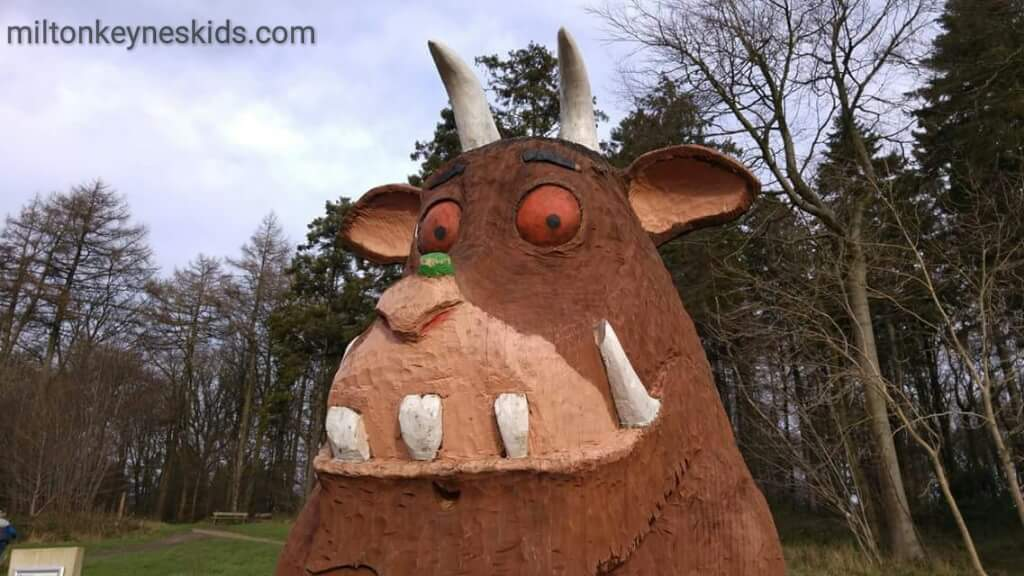 Gruffalo statue at Wendover Woods