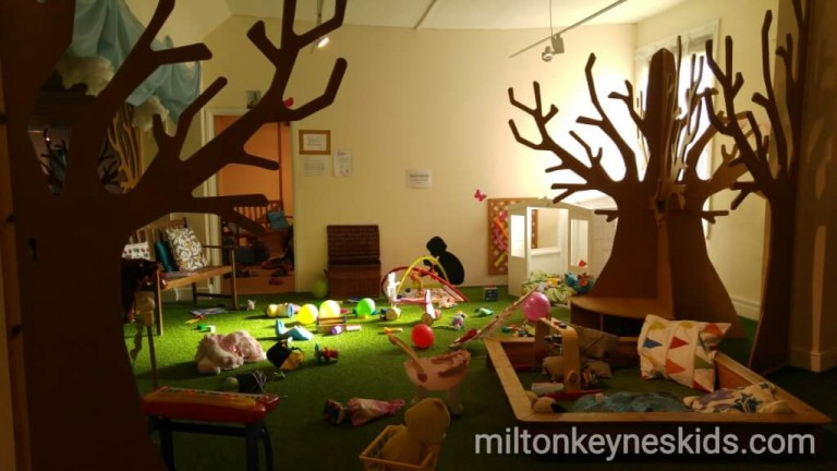 baby play area at Secret Garden, Hitchin
