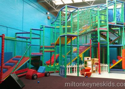 Adventure World soft play at Dunstable Leisure Centre