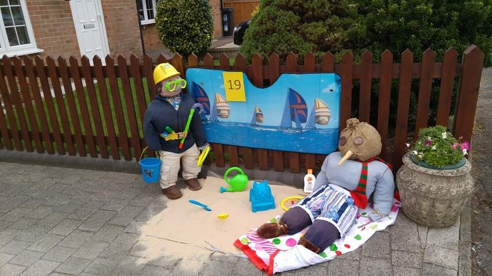 Flamstead Scarecrow Festival 2015