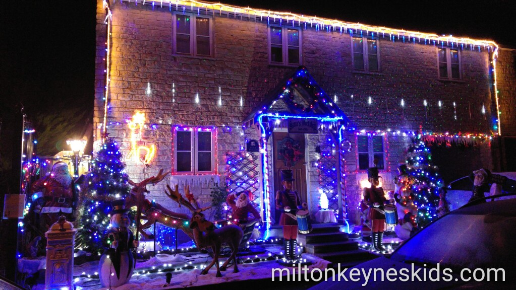 Christmas house, Olney