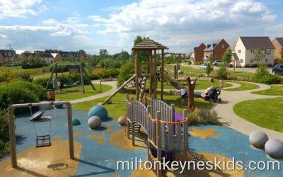The fabulous Brooklands Park in Broughton, Milton Keynes