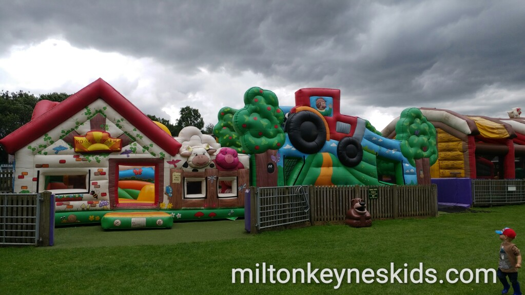 Bouncy Castle at Rookery Open Farm