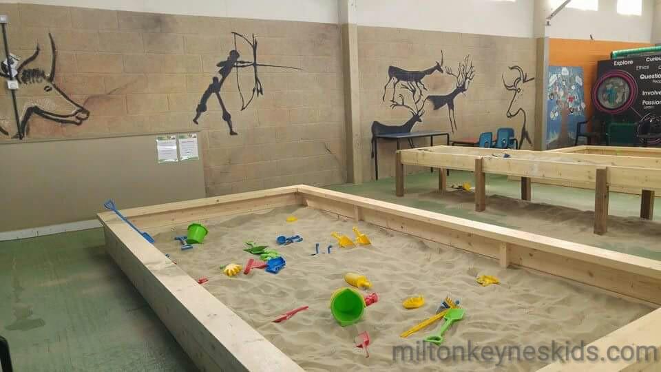 indoor sandpit