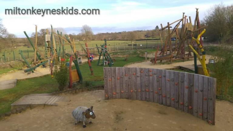 adventure playground at Aldenham Country Park