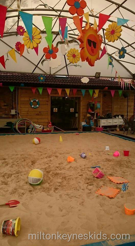 The Beach at Frosts Garden Centre