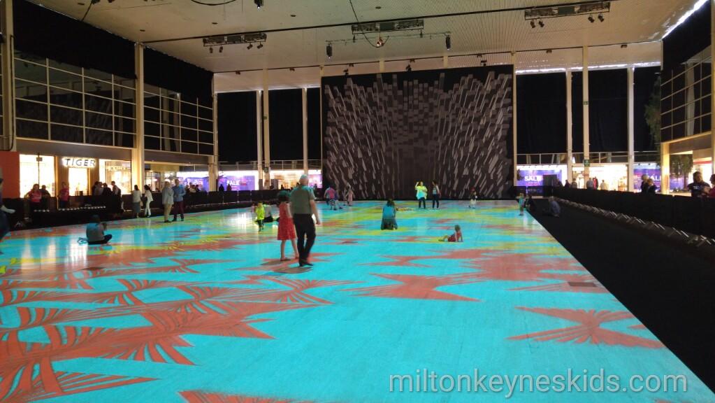 Magic Carpets 2016 by Miguel Chevalier Milton Keynes International Festival
