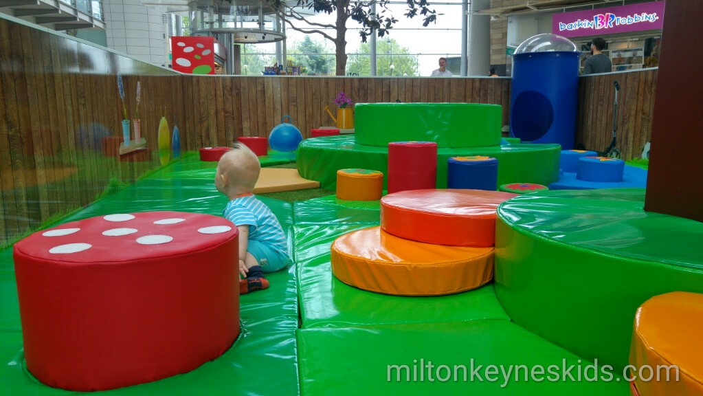 Intu Milton Keynes shopping centre soft play