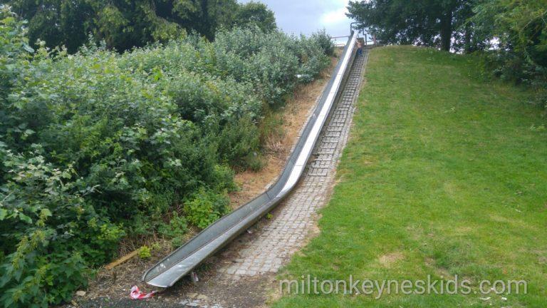 Huge slide in Bradville