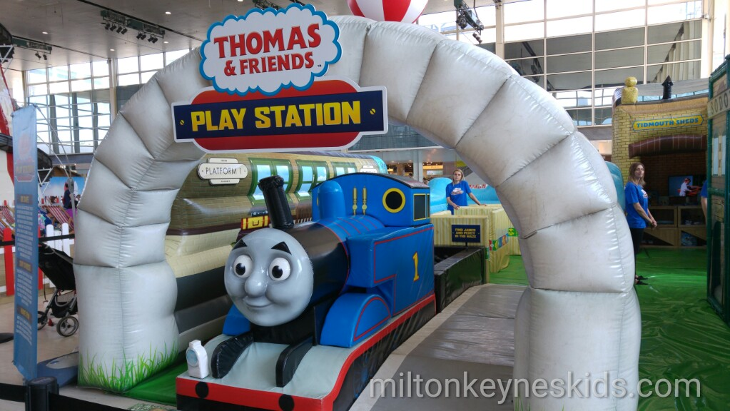 Thomas the Tank Engine Play Station at Centre MK