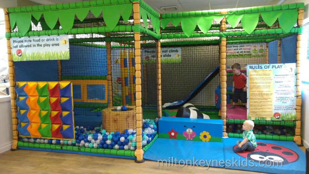 Wyevale Garden Centre soft play, Woburn Sands, Milton Keynes