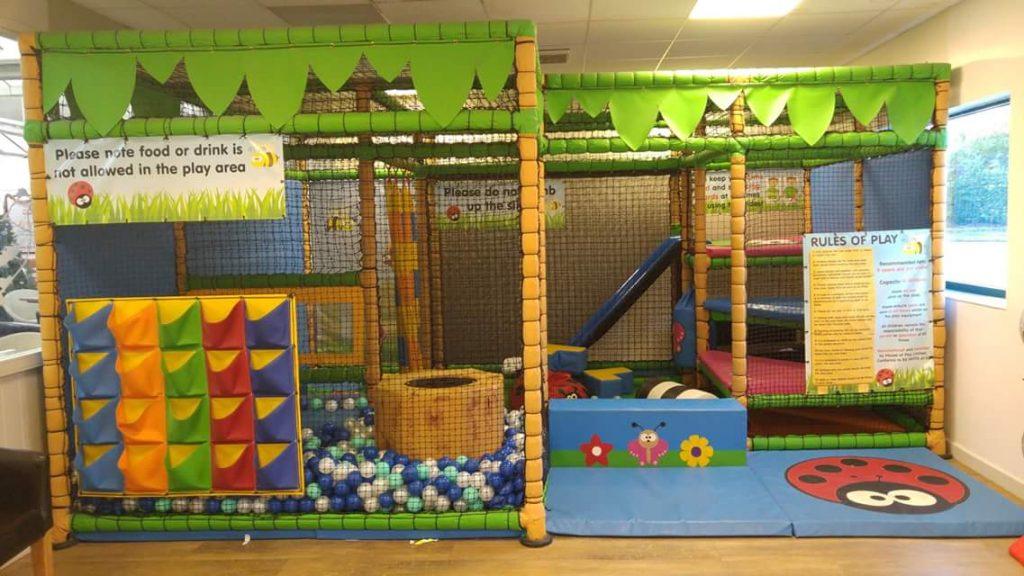 Soft play at Woburn Sands Emporium