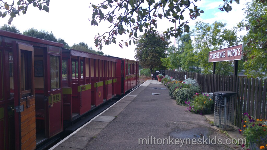 Ride on the steam train at Leighton Buzzard Railway in Bedfordshire