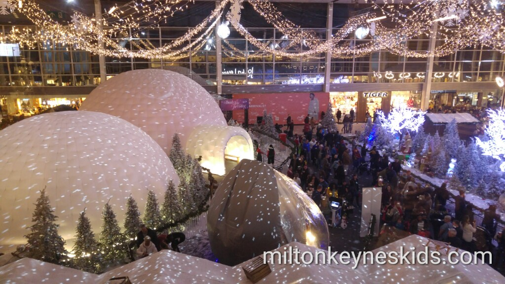 Christmas at Middleton Hall in Centre MK, Milton Keynes 2016