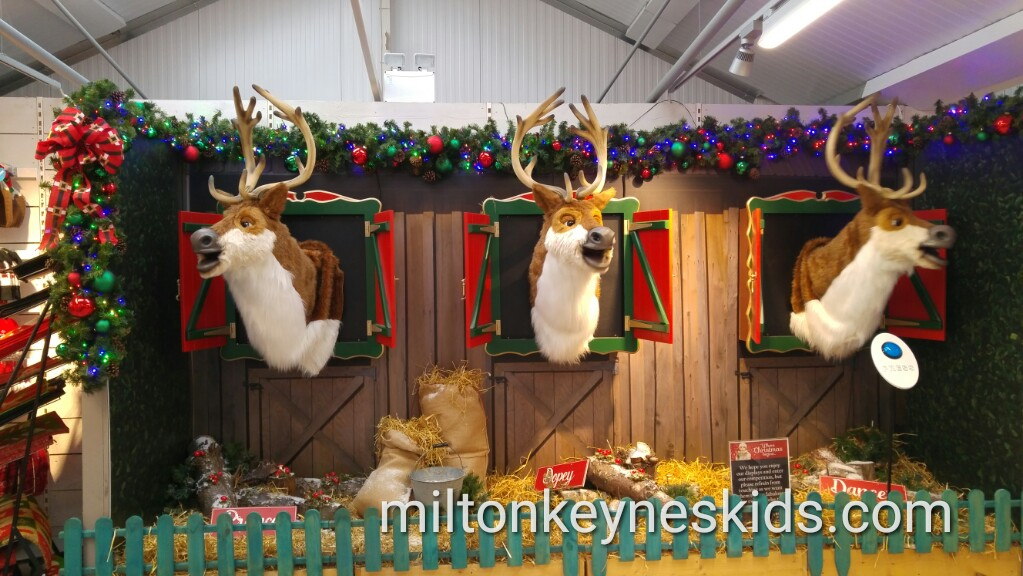 Free Christmas displays at Frosts Garden Centre, Woburn Sands, Milton Keynes