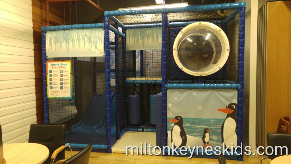 Free soft play next to Snozone in Xscape Milton Keynes