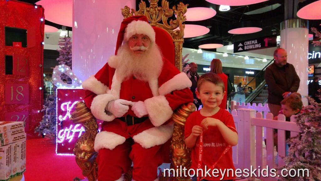 Free Santa Claus visit at Xscape Milton Keynes 2016