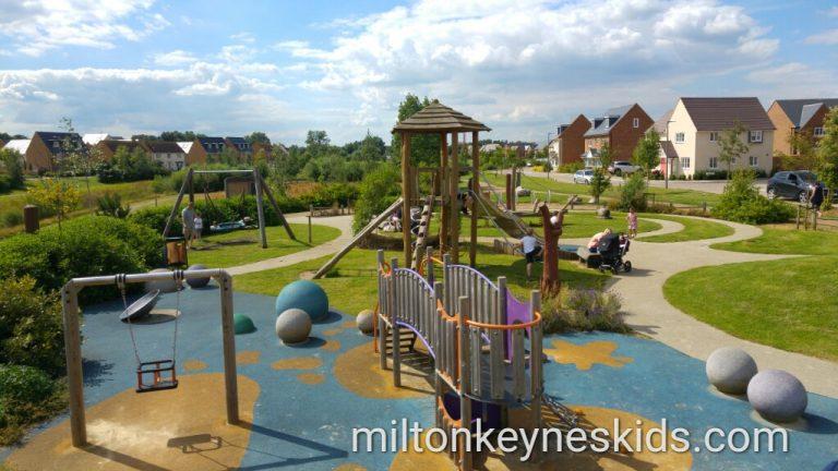Brooklands Park in Milton Keynes