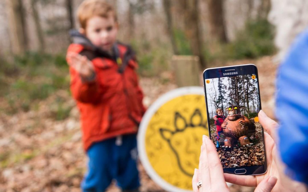 Free Gruffalo spotters trail at Salcey Forest and Wendover Woods