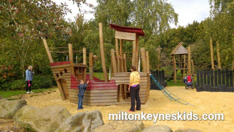 Pirate park in Loughton, Milton Keynes