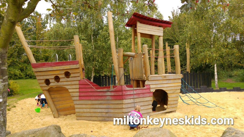 pirate park in Loughton, Milton Keynes