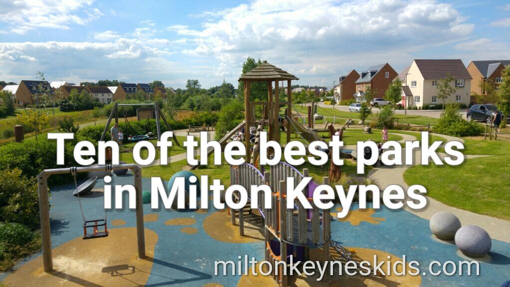 Ten of the best parks for kids in Milton Keynes
