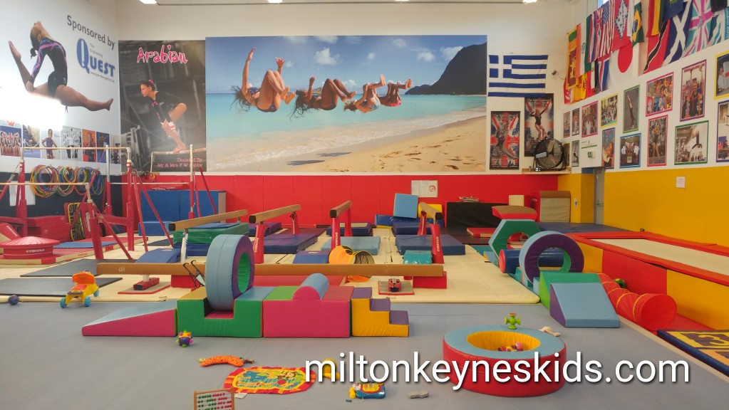 Baby and toddler gym area at Arabian Gym, Bletchley