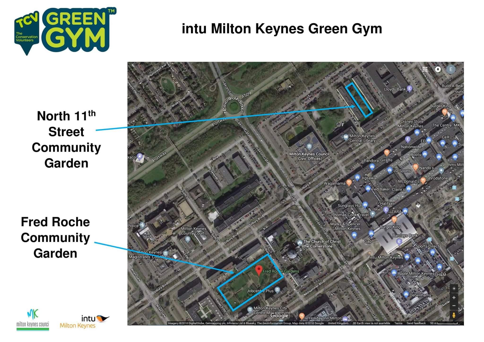 Intu Green gym