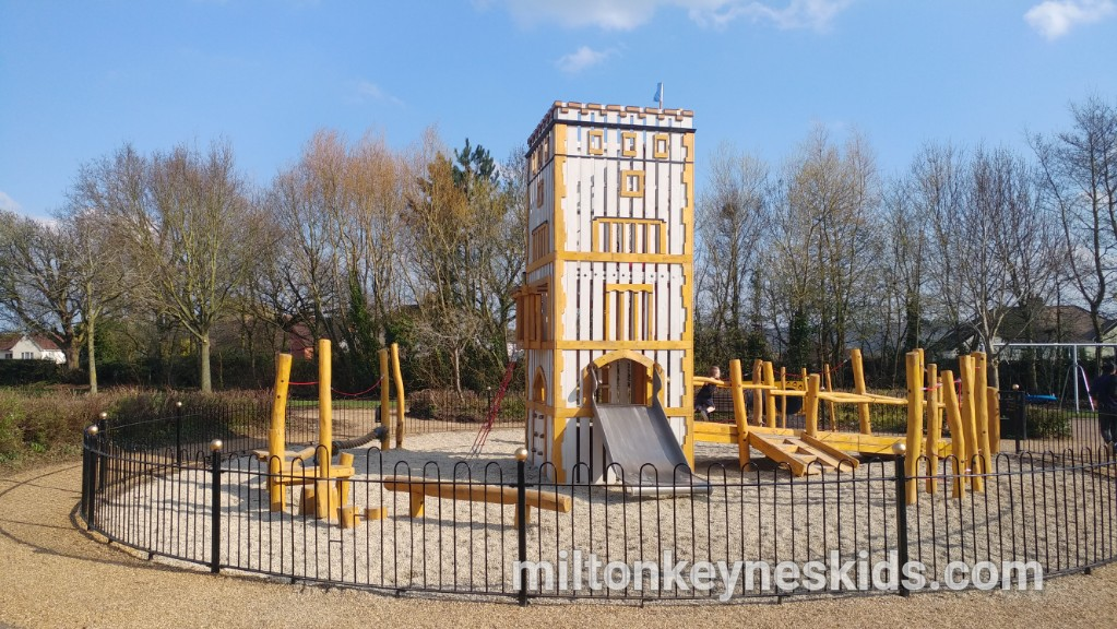 Wavendon Gate Pavilion park in Milton Keynes – revamped