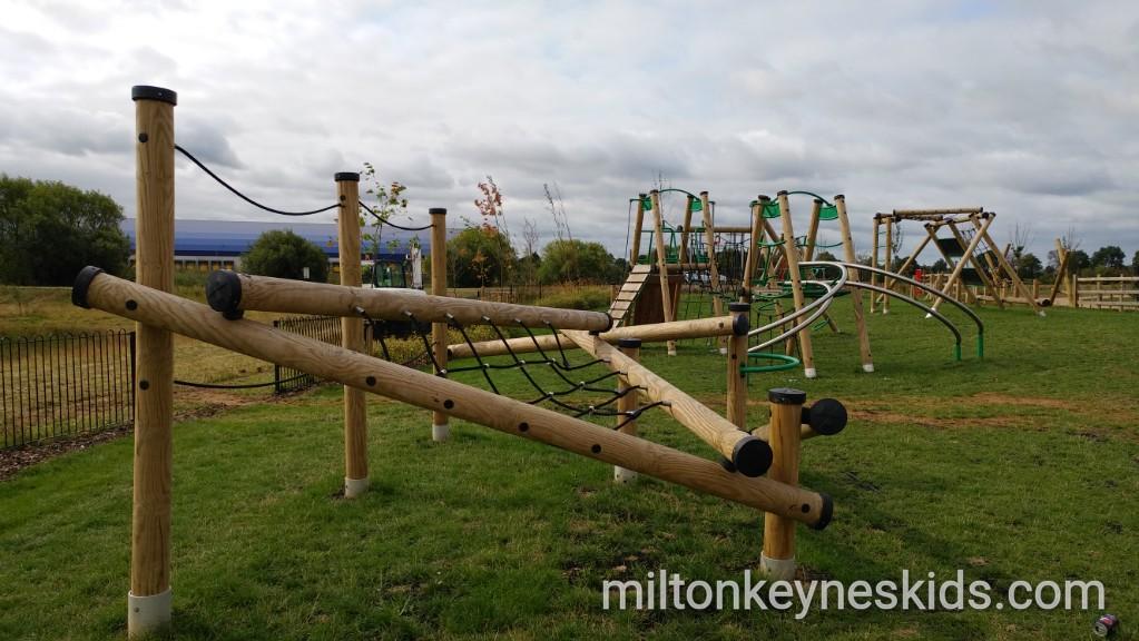 Brooklands Pavilion Park in Milton Keynes