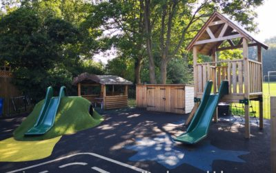 Play area at Sherington Pre-School Park