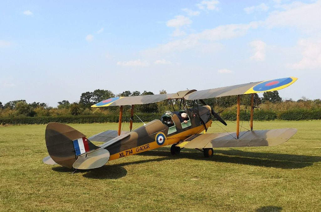 Shuttleworth Collection planespotting and play area