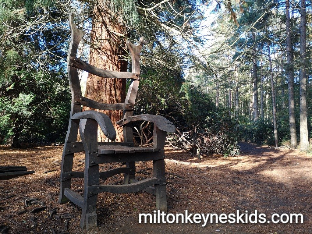 Giant chair at Rushmere Country Park