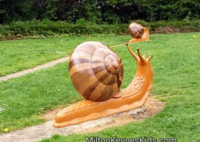 Snail Park in Walnut Tree