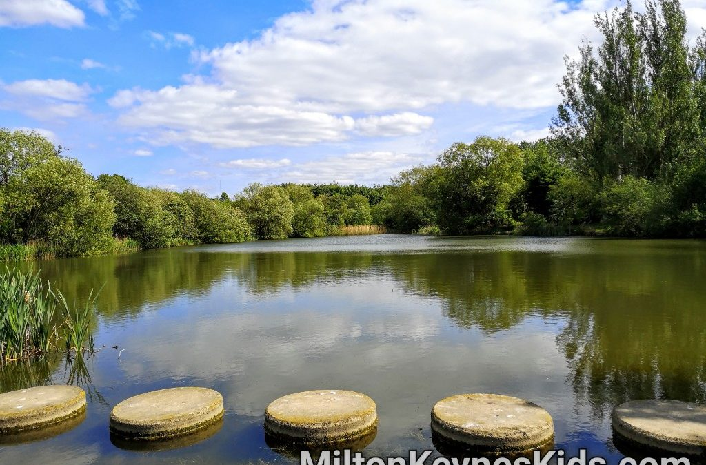 Walk around Teardrop Lakes, Knowlhill Milton Keynes