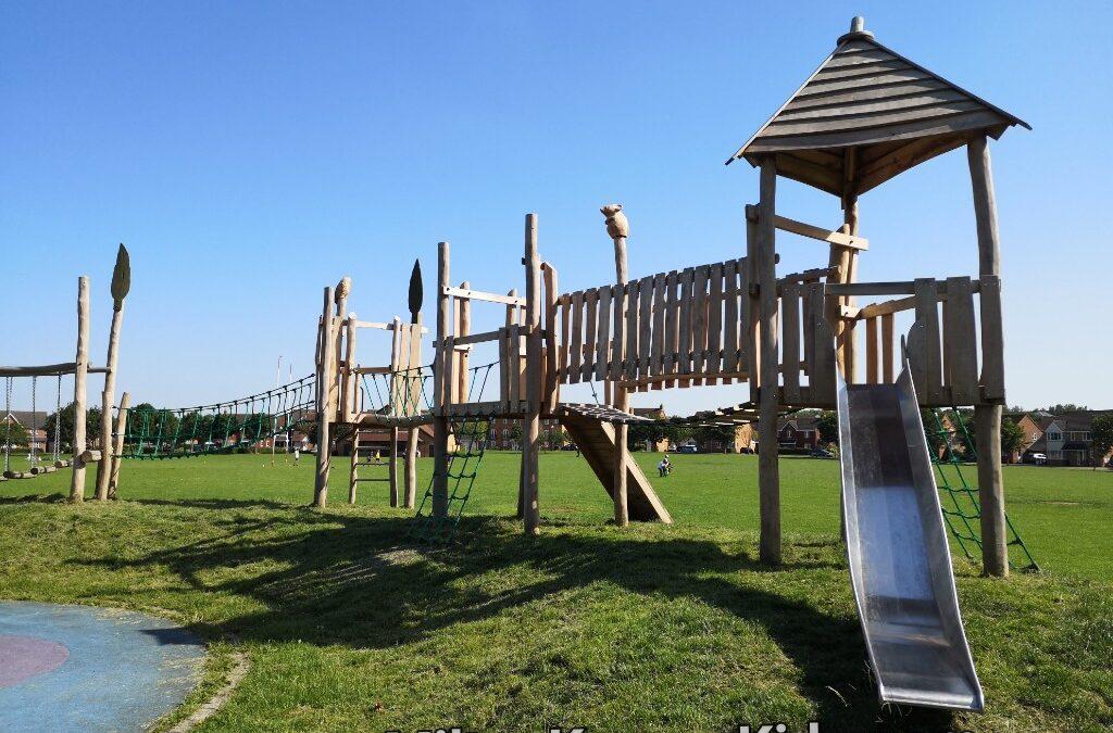 Blanchard Crescent park, Monkston, Milton Keynes