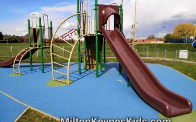Wootton play area, Bedfordshire