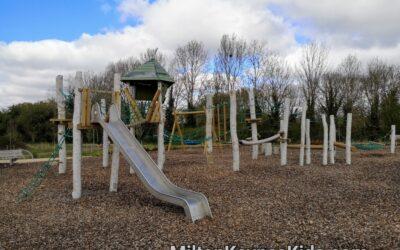 Large climbing frame at Fairfields Park